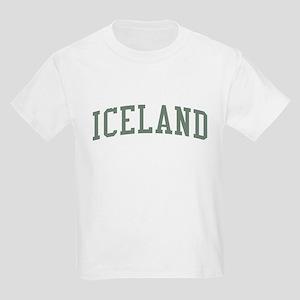 Iceland Green Kids Light T-Shirt