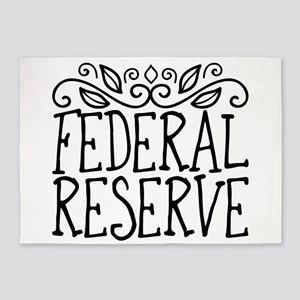 Federal Reserve 5'x7'Area Rug