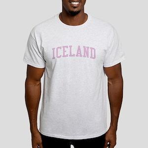 Iceland Pink Light T-Shirt
