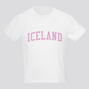 Iceland Pink Kids Light T-Shirt