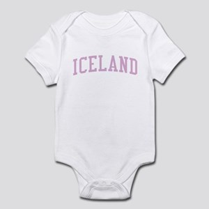 Iceland Pink Infant Bodysuit