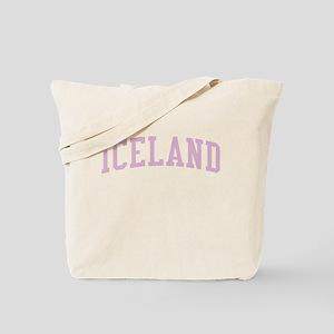 Iceland Pink Tote Bag