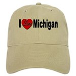 I Love Michigan Cap