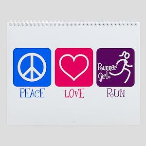 Runnergirl Wall Calendar