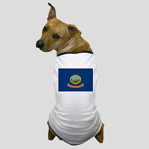 Beloved Idaho Flag Modern Sty Dog T-Shirt