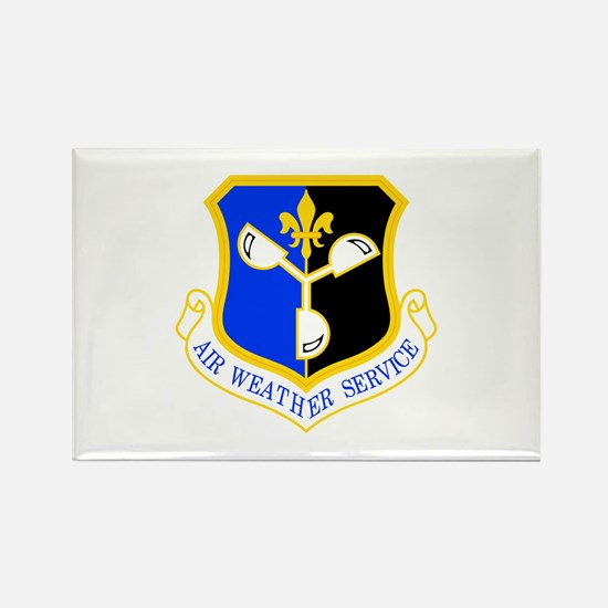 Weather Service Rectangle Magnet