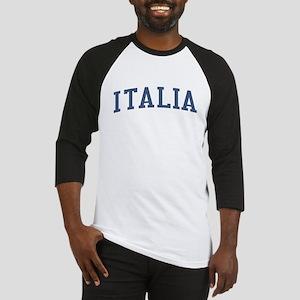 Italy Blue Baseball Jersey