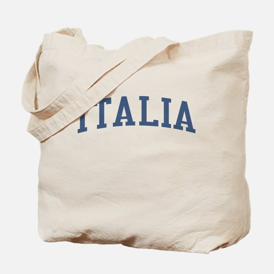 Italy Blue Tote Bag