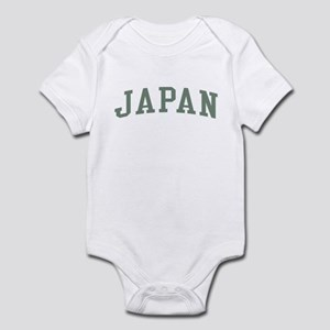 Japan Green Infant Bodysuit