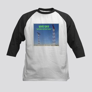Antenna Restrictions Kids Baseball Jersey