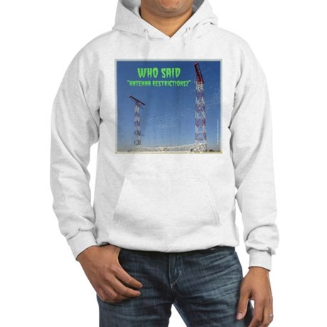 Antenna Restrictions Hooded Sweatshirt
