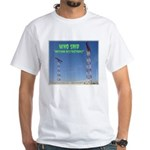 Antenna Restrictions White T-Shirt