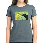 Labs Like to Share Women's Dark T-Shirt