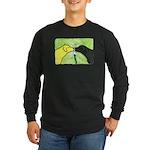 Labs Like to Share Long Sleeve Dark T-Shirt