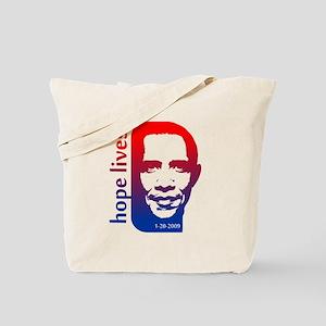 Hope Lives-Obama Tote Bag