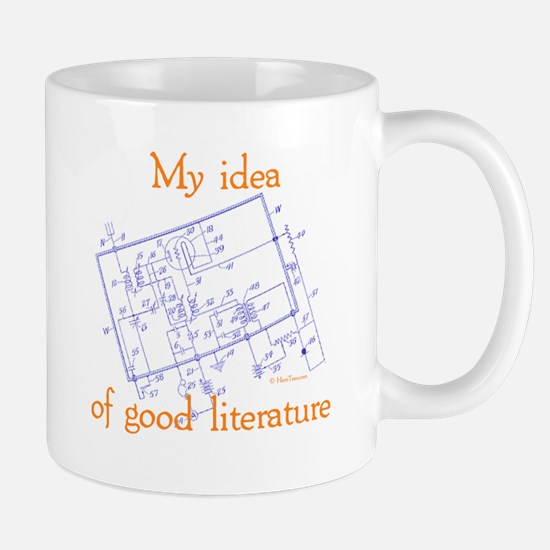 Radio Schematic Mug