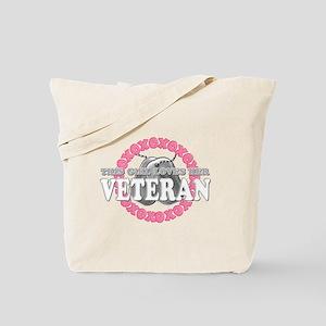 This Girls Loves Her Veteran Tote Bag