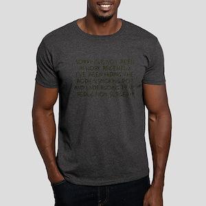 Pot smoking funny slogan Dark T-Shirt