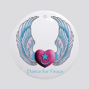 Dance for Peace Ornament (Round)