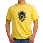 South Lake Tahoe PD Yellow T-Shirt
