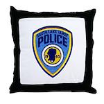 South Lake Tahoe PD Throw Pillow