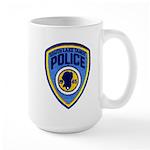 South Lake Tahoe PD Large Mug