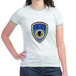 South Lake Tahoe PD Jr. Ringer T-Shirt