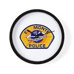 El Monte Police Wall Clock