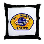 El Monte Police Throw Pillow