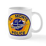 El Monte Police Mug