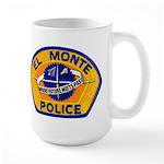 El Monte Police Large Mug