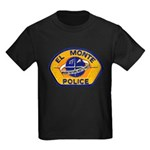 El Monte Police Kids Dark T-Shirt