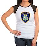Suisun City Police Women's Cap Sleeve T-Shirt