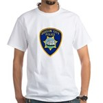 Suisun City Police White T-Shirt