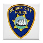 Suisun City Police Tile Coaster