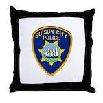Suisun City Police Throw Pillow