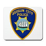 Suisun City Police Mousepad