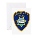 Suisun City Police Greeting Cards (Pk of 20)