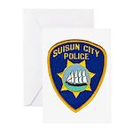 Suisun City Police Greeting Cards (Pk of 10)