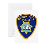 Suisun City Police Greeting Card
