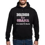 Brides for Obama Hoodie (dark)
