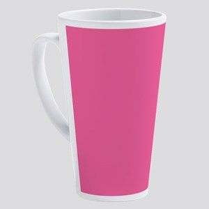 Hot Pink 17 oz Latte Mug