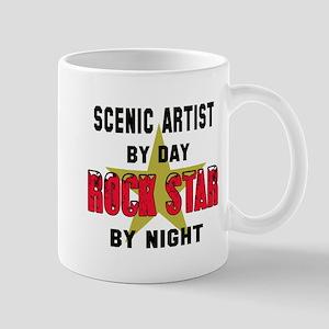 Scenic artist By Day, Rock Star 11 oz Ceramic Mug