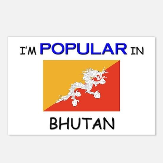 I'm Popular In BHUTAN Postcards (Package of 8)