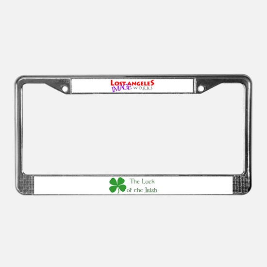 Luck of the Irish License Plate Frame