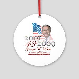 43rd President - Ornament (Round)