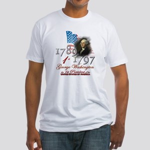 1st President - Fitted T-Shirt