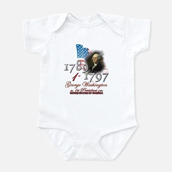 1st President - Infant Bodysuit