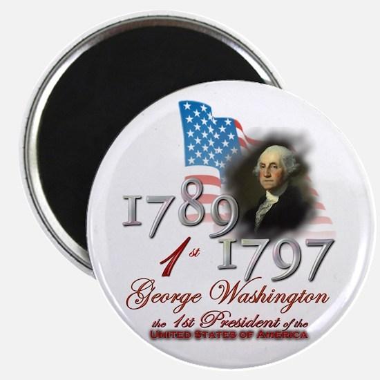 1st President - Magnet
