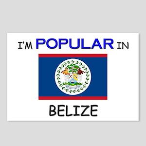 I'm Popular In BELIZE Postcards (Package of 8)